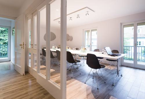 'Garden House' Meeting room in Hotel Seitner Hof in Pullach in the Isar Valley