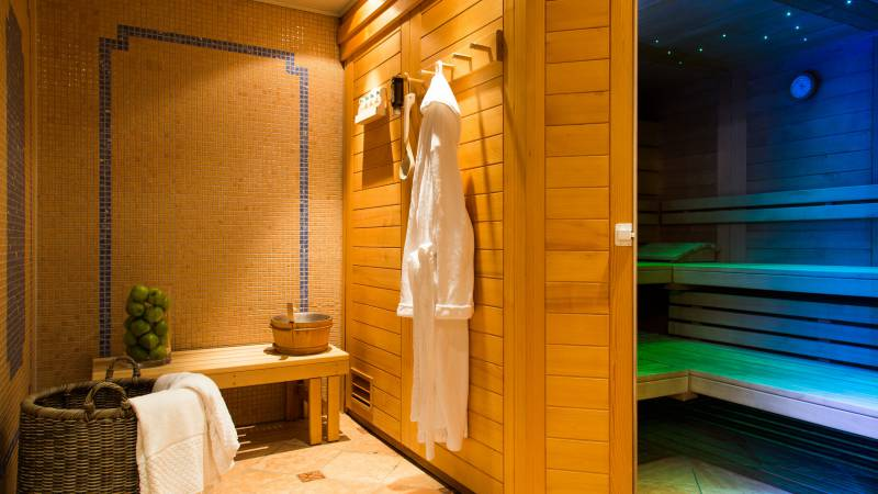 Sauna at Hotel Seitner Hof in Pullach in the Isar Valley