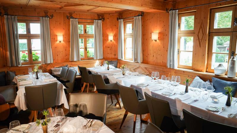 Restaurant Alte Brennerei in Pullach in the Isar Valley